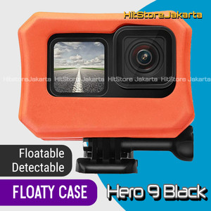 Floaty Frame Case Hero 9 Black Protective Sleeve Floating GoPro Hero 9