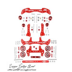Paket TAMIYA Modifikasi STO 50 FRP Red - SET02