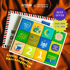Hadiah Lebaran - Letter Box Chocolate Lebaran 4x3
