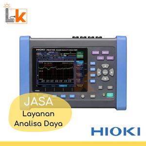 (JASA) HIOKI PW3198 - Layanan Analisa Daya - Power Quality Analyzer