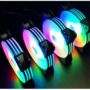 fan casing magic moon 12cm RGB silent cooler fan casing