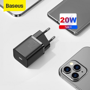 KEPALA CHARGER TYPE C PD BASEUS QUICK CHARGER 20W IPHONE 12