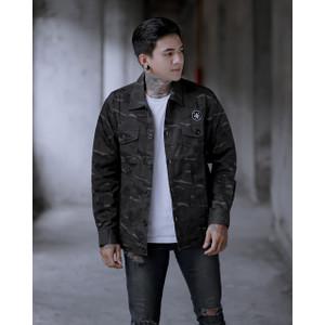 Jaket Camo BGSR / Jaket pria / Jaket Loreng / Jaket Army Pria / Jaket