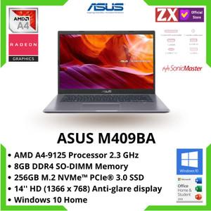 "LAPTOP ASUS M409BA AMD A4-9125 8GB 256GB SSD ATI RADEON R3 14"" WIN 10"