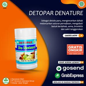 Obat Herbal Detox Paru De Nature