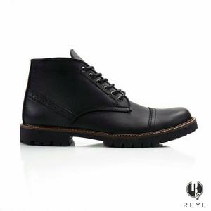 SEPATU BOOTS PRIA REYL ACOUSTIC BLACK 39-45