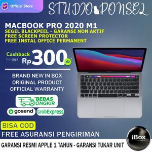 Apple Macbook Pro 2020 M1 Chip 512GB SSD MYD92 256GB MYD82 Gray Resmi