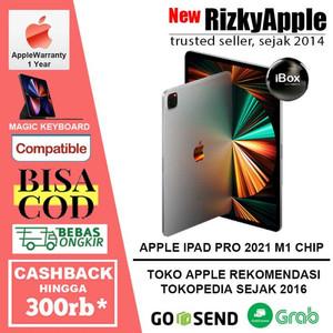 "iPad Pro M1 Chip 12.9"" 2021 2TB GREY SILVER 128GB 256GB 512GB 1TB"