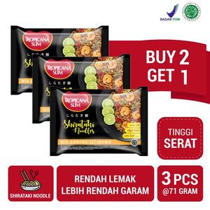 Buy 2 Get 1 FREE: Tropicana Slim Shirataki Noodles (71gr)