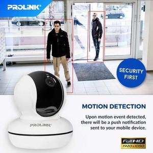 Kamera CCTV PROLiNK Full HD 1080P Smart Wi-Fi Pan-Tilt IP Camera 360