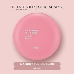 [The Face Shop] Moisture Cushion Blush 02 Pink - 8g - Original