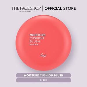 [The Face Shop] Moisture Cushion Blush 01 Red - 8g - Original