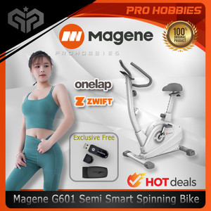 Magene G601 Semi Smart Spinning Bike ORIGINAL - Sepeda Statis