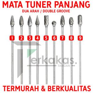 Tuner Panjang Tunner Mata Gerinda Long Cuner Mata Bor 3x100