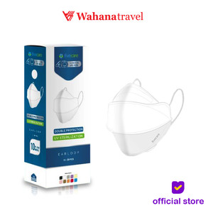 Masker Five Care Earloop 4Ply - Isi 20 Pcs