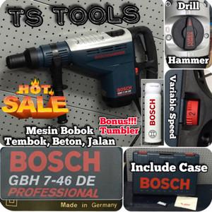 Bosch GBH 7-46 DE Mesin Bor Bobok Tembok Beton Jalan Bosch GBH 7 46 DE