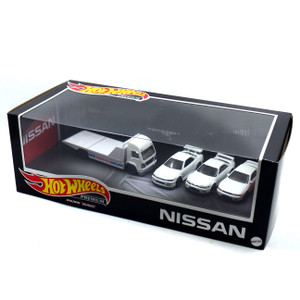 Hot Wheels Nissan Diorama Premium Set