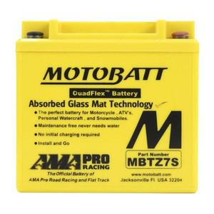 Motobatt Quadflex Mbtz7S - 6.5Ah - Garansi 1 Tahun, Free Kaos