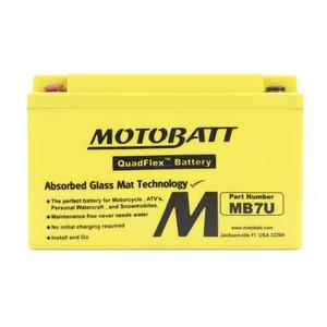 Motobatt Quadflex Mb7U - 6.5Ah - Garansi 1 Tahun, Free Kaos