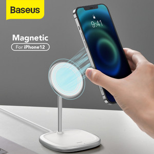 BASEUS WIRELESS CHARGER HOLDER STAND APPLE MAGSAFE CHARGER IPHONE 12