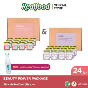 Realfood Beauty Power Free Exclusive Merchandise