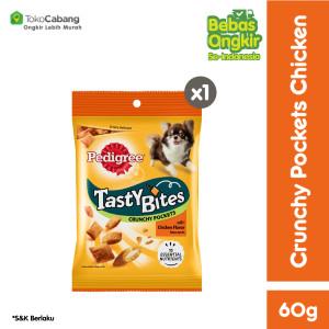 PEDIGREE® Snack Anjing Tasty Bites rasa Chicken 60gr