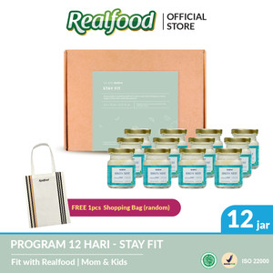 Realfood Stay Fit Program 12 Hari