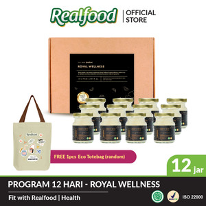 Realfood Royal Wellness Program 12 Hari