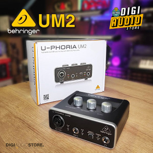 Soundcard Behringer UM2 with Preamp Xenyx