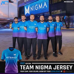 JERSEY GAMING TEAM NIGMA - DOTA2 GAMERS