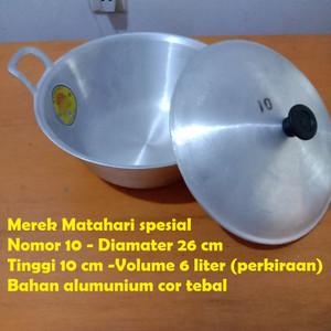 Citel no 12 (Panci ketel wajan tradisional serbaguna)