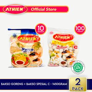 Athien - BUNDLE Bakso Goreng + Bakso Spesial C / 1450gram