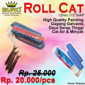 PROMO!! Kuas Roll Cat Dinding Tembok PREMIUM merk EURO