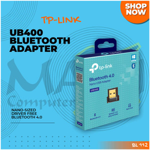 TP-Link UB400 Bluetooth 4.0 Driver Free Nano USB Bluetooth Adapter