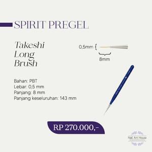 PREGEL BRUSH SPIRIT LONG LINER BY TAKESHI