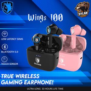 Sades Wings 100 True Wireless Gaming Earphones