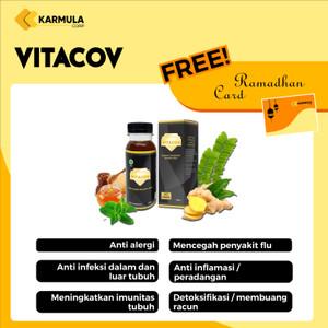 [COD] Vitacov Suplemen Herbal | Suplemen Imunitas Daya Tahan Tubuh