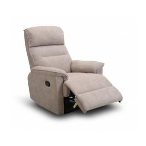 SCANDIA Sofa Recliner 1 Seater Tilbage 82x98x106 Cm - Camel