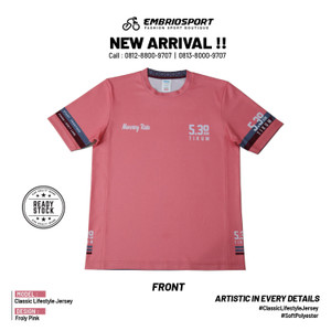 Classic Lifestyle Jersey - Froly Pink