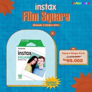 Refill Fujifilm Instax Square 10 lembar Polos Plain Paper Square