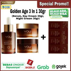 Kosmetik You Golden Age 3 in 1 Refining serum/ Day&Night Cream 30gr