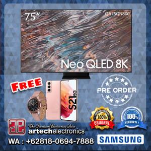SAMSUNG Neo QLED 8K SMART TV 75 Inch QA75QN800 FREE GIFTS