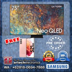 SAMSUNG Neo QLED 4K SMART TV 75 Inch QA75QN90 FREE GIFTS