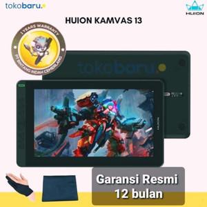 New Huion Kamvas 13 (android ready) display tablet garansi resmi