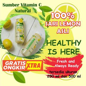 Lemonina 500 ML , 100% Sari Lemon Asli , Lemon Peras , Air Lemon murni