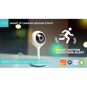 Bardi Indonesia Smart IP Camera 1080HD CCTV Wifi IoT HomeAutomation