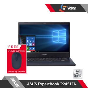 ASUS ExpertBook P2451FA-EK3820TS i3-10110U 8GB 256GB Intel UHD W10+OHS