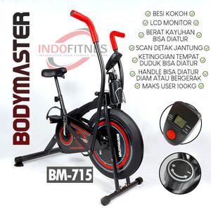 Platinum Bike BODYMASTER BM - Sepeda Statis Alat Fitnes Olahraga