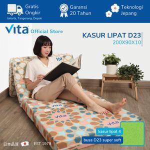 Kasur Lipat Vita (200x90x10cm) - Japan Quality