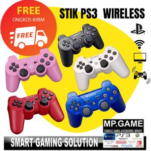 Stik Stick PS3 Wireless Original Ori Pabrik Warna